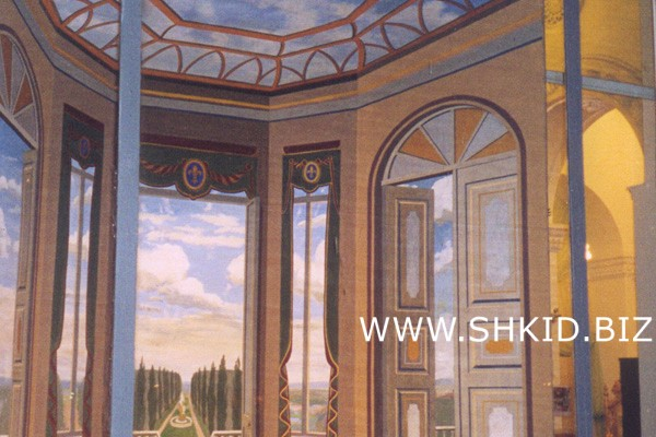 Витрины мебельного салона, г. Москва