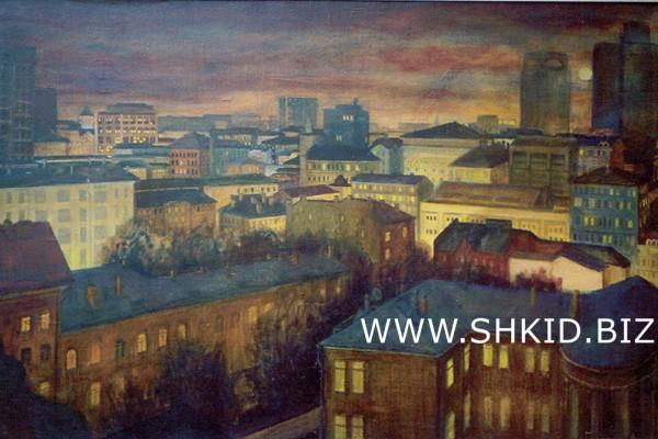 Пейзаж . Москва