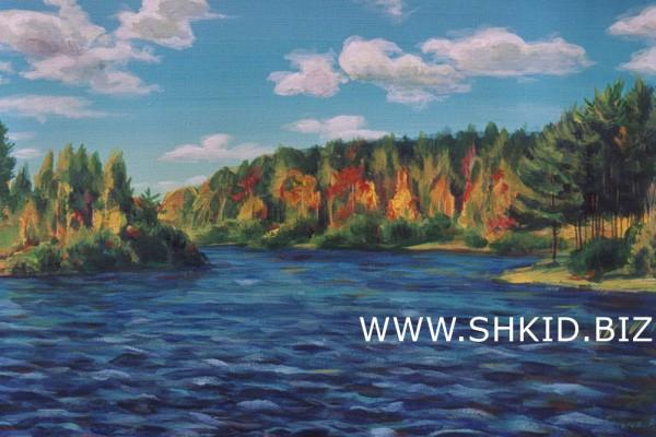 Пейзаж. Волга