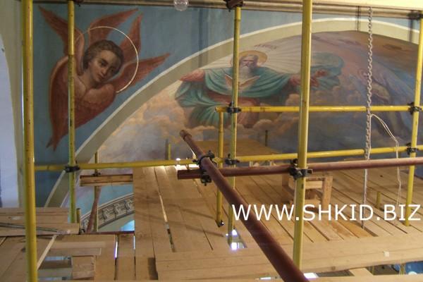 Реставрация храмов 72