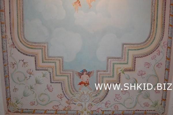 Роспись потолков и стен 33