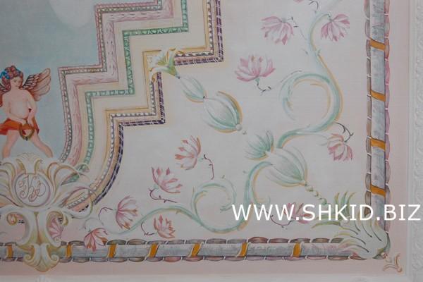 Роспись потолков и стен 34
