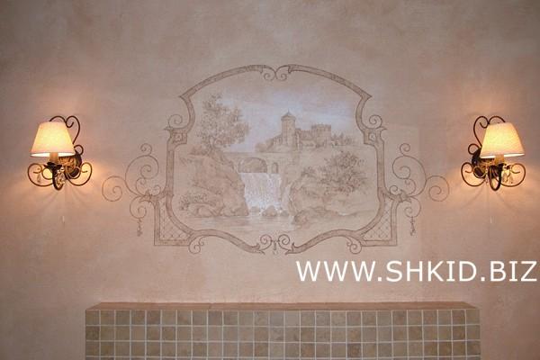 Роспись потолков и стен 45