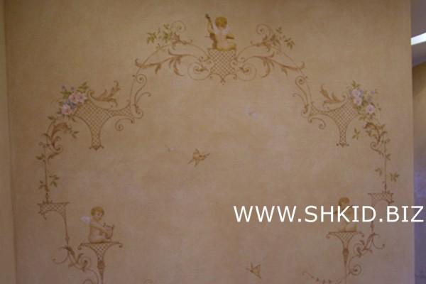 Роспись потолков и стен 46
